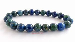 bead bracelet crystal images Lapis lazuli chrysocolla crystal gemstone beads bracelet healing jpg