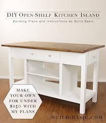 kitchen island blueprints kitchen island blueprints build diy basic modern project opener