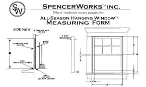 Window Blind Stop - order form spencerworks