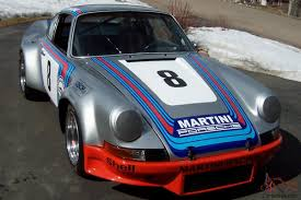 porsche martini porsche 911 vintage road racing car martini racing tribute restored