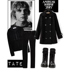 halloween costume american horror story tate langdon polyvore