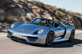 blue porsche spyder porsche 918 spyder wallpapers high quality download free