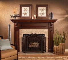 imaginative fireplace remodeling ideas with themed mantel pieces