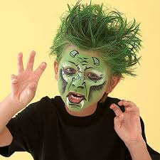 Joker Kids Halloween Costume Step Step Face Painting Ideas