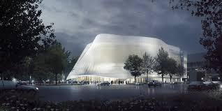 Exterior View Gallery Of Mad Architects Unveils Design For Translucent China