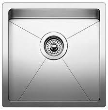 Stainless Steel Undermount Kitchen Sink by Blanco Undermount Kitchen Sink Satin Stainless Transitional