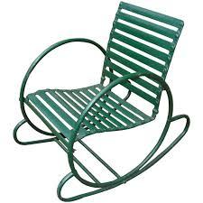 Garden Rocking Chair Uk Deco Vintage Lawn Garden Rocking Chair At 1stdibs