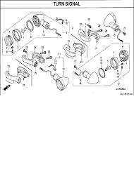 2007 honda vtx1800 vtx1800t2 turn signal parts best oem turn