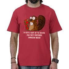 Beaver Halloween Costume Funny Canadian Beaver Shirt