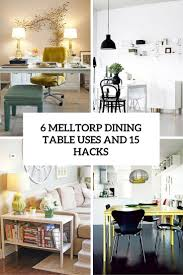 Ikea Ingo Table by 6 Ikea Melltorp Dining Table Uses And 15 Hacks Digsdigs