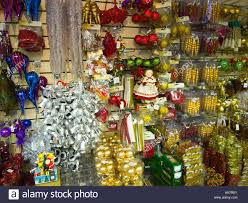 christmas decorations on sale store stock photos u0026 christmas