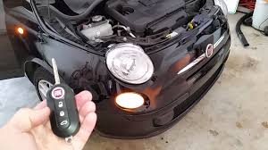 2008 2015 fiat 500 testing key fob after changing battery