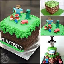 minecraft birthday cake ideas 50 coolest birthday cakes on the planet kids activities