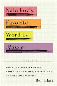nabokov u0027s favorite word is mauve u0027 crunches the literary numbers
