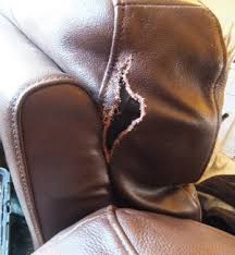 how to fix cut in leather sofa leather vinyl sofa furniture repair restoration repairs