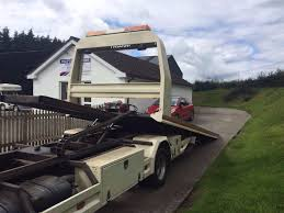 daf lf nugent recovery lorry in lisbellaw county fermanagh