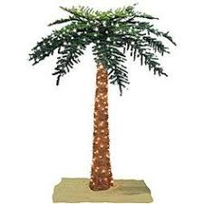 lighted palm tree decor palm