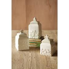themed kitchen canisters seashell canister set