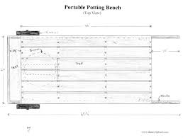 Plans For A Wooden Bench by How To Build A Portable Potting Bench Garden Cart Today U0027s
