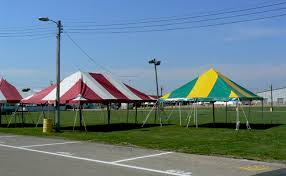 circus tent rental rope and pole party tents photo gallery springfield oh