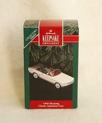 1966 mustang classic american car 1992 hallmark