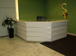 Reception Desk With Transaction Counter Doorstep Inc