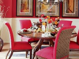 dining room 51 sweet red chairs with stylish iron chandelier