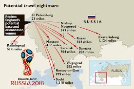 russia football map world cup 2018 putin determined not to let racism and violence
