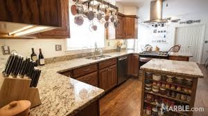 giallo ornamental granite brown and gold color countertops