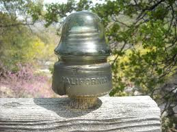 california glass insulator bottles and insulators pinterest