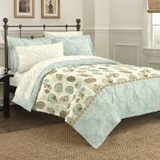 Coastal Themed Bedding Discoveries Sea Breeze Comforter Sham And Sheet Set Walmart Com