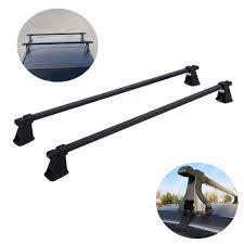 54 u0026 034 universal steel car roof top rack cross bars luggage