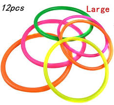 plastic rings large images 12 pcs large size plastic toss rings for speed and jpg