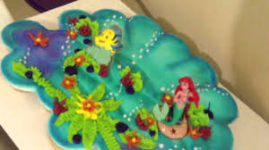 mermaid cupcake cake 3