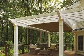 retractable pergola canopy in morris plains shadefx canopies