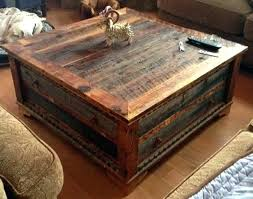 Trunk Style Coffee Table Trunk Style Coffee Table Fieldofscreams