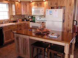 Natural Hickory Kitchen Cabinets Rustic Hickory Cabinets Kitchen Pictures U2014 New Lighting New Lighting
