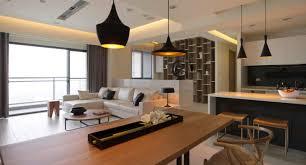 modern open floor plan open plan kitchen dining living room modern 0 decorating ideas