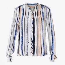 coster copenhagen stripe print women s shirts blouses for women coster copenhagen