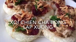 chien cuisine how to bite size xoi chien cha bong xuong 2 0 sticky rice