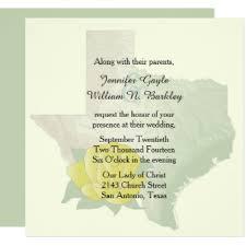 Wedding Invitations San Antonio Texas Wedding Invitations U0026 Announcements Zazzle