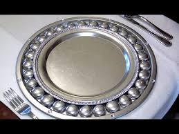 how to make antique silver charger plates ep3 part2