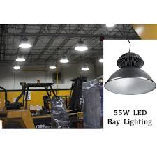 commercial warehouse lighting fixtures 55w led high bay lighting fixture 4800lm daylight white fresh