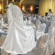 white chair covers wholesale wholesale 10pcs white ivory satin universal chair cover for