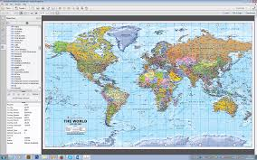 World Map Korea World Political Map Huge Size 1 20m Scale Editable Geopdf