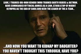 Obi Wan Kenobi Meme - look i trained obi wan kenobi who trained darth vader batman