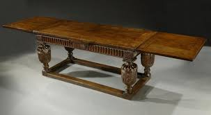 what is a draw leaf table a magnificent elizabethan oak drawleaf table lucy johnson
