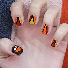 44 best thanksgiving nails images on pinterest fall nails fall