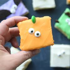 Decorated Halloween Sugar Cookies by Halloween Sugar Cookie Bars So Fast Easy It U0027s Always Autumn