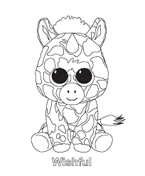 photo gallery ty beanie boos coloring pages